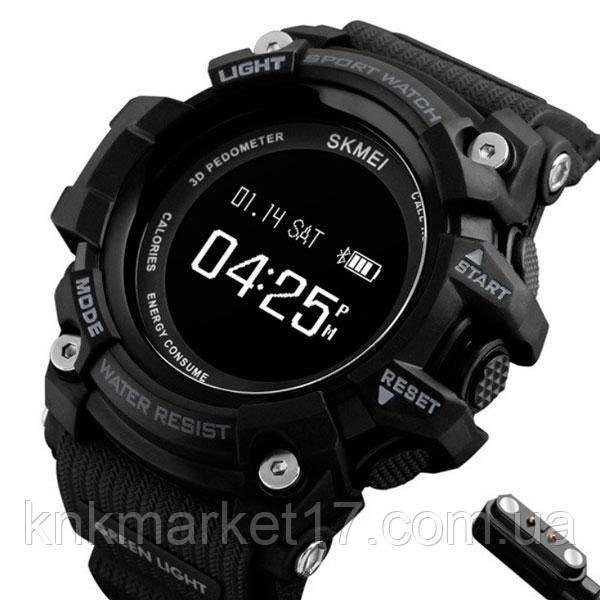 Skmei Розумні годинник Smart Skmei Power Smart+ 1188 Black з пульсометром