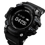 Skmei Розумні годинник Smart Skmei Power Smart+ 1188 Black з пульсометром, фото 2