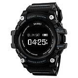 Skmei Розумні годинник Smart Skmei Power Smart+ 1188 Black з пульсометром, фото 3