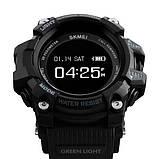 Skmei Розумні годинник Smart Skmei Power Smart+ 1188 Black з пульсометром, фото 4