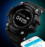 Skmei Розумні годинник Smart Skmei Power Smart+ 1188 Black з пульсометром, фото 5