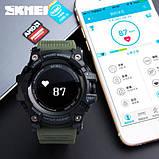 Skmei Розумні годинник Smart Skmei Power Smart+ 1188 Black з пульсометром, фото 8