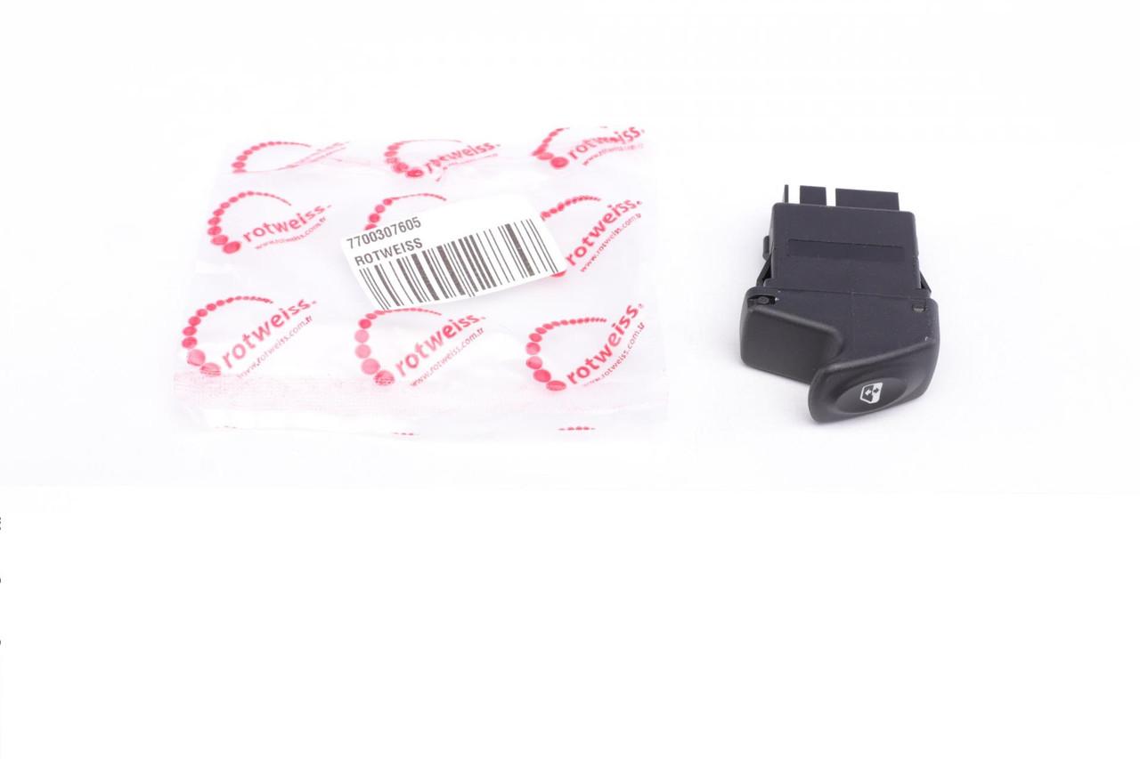 Кнопка склопідіймача Renault Kangoo 97- (RWS1743) ROTWEISS