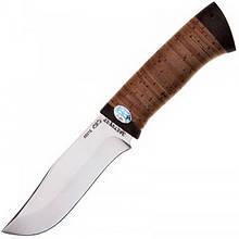 Ніж А&Р Клычок-3, рукоять береза (довжина: 26.0 см, лезо: 13.5 см), піхви шкіра