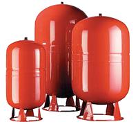 ERCE-150 расширительный бак для системы отопления сварной конструкции с фиксированной мембраной