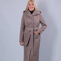Пальто женское мокко