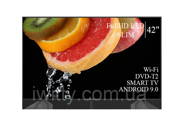 """Телевизор Hisense Хайсенс 42"""" Smart-TV/Full HD/DVB-T2/USB Android 9.0"""