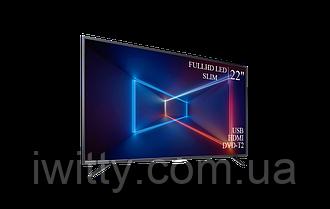 """Телевизор Sharp Шарп 22"""" СМАРТ приставка в ПОДАРОК FullHD/DVB-T2/USB (1080р)"""