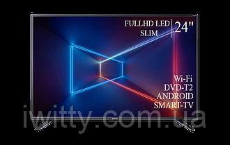 "Телевизор Sharp Шарп 24"" Smart-TV/FullHD/DVB-T2/USB"