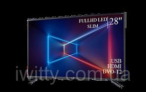 "Телевизор Sharp Шарп 28"" FullHD/DVB-T2/USB, фото 2"