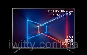 "Телевизор Sharp Шарп 28"" FullHD/DVB-T2/USB, фото 3"