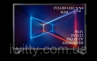 "Телевизор Sharp Шарп 32"" Smart-TV/FullHD/DVB-T2/USB  Android 9.0"