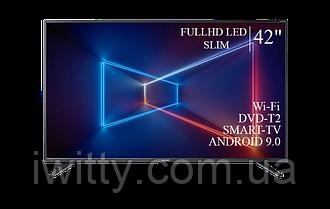 "Телевизор Sharp Шарп 42"" Smart-TV/FullHD/DVB-T2/USB Android 9.0"