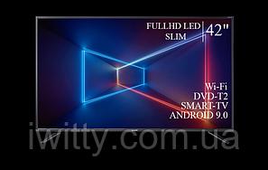 """Телевизор Sharp Шарп 42"""" Smart-TV/Full HD/DVB-T2/USB Android 9.0, фото 2"""