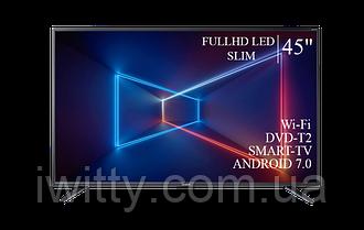 "Телевизор Sharp Шарп 45"" Smart-TV/FullHD/DVB-T2/USB Android 7.0"