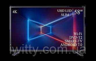 "Телевизор Sharp Шарп 58"" Smart-TV/DVB-T2/USB Android 7.0 4К/UHD"