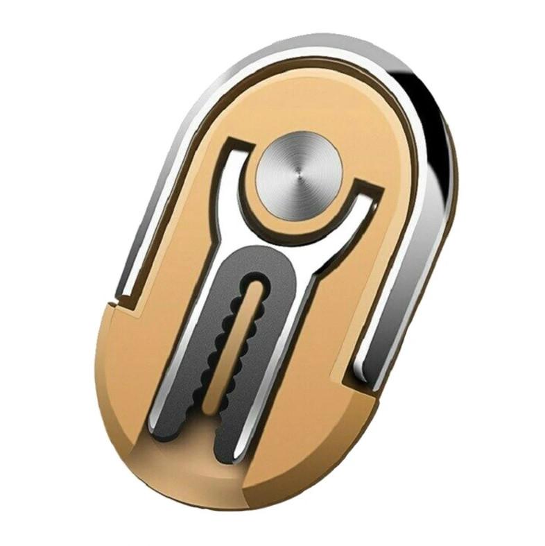Держатель кольцо для телефона (попсокет / popsocket / подставка) Hicucoo Ring 360 золотистый