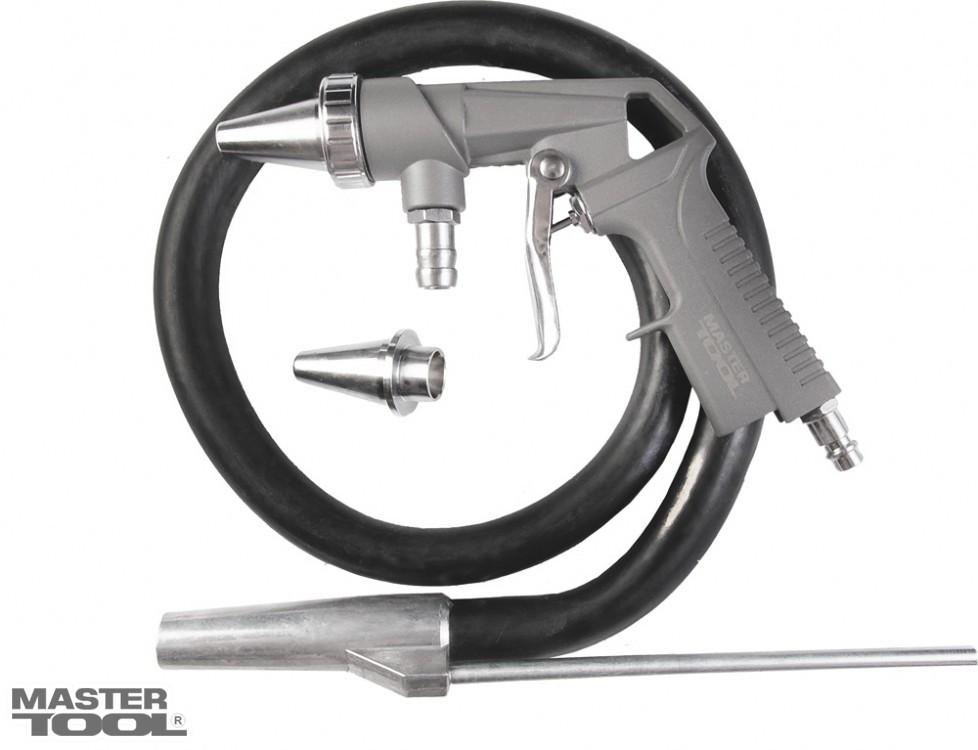 Пистолет пескоструйный пневматический 6мм 10бар Mastertool 81-8706