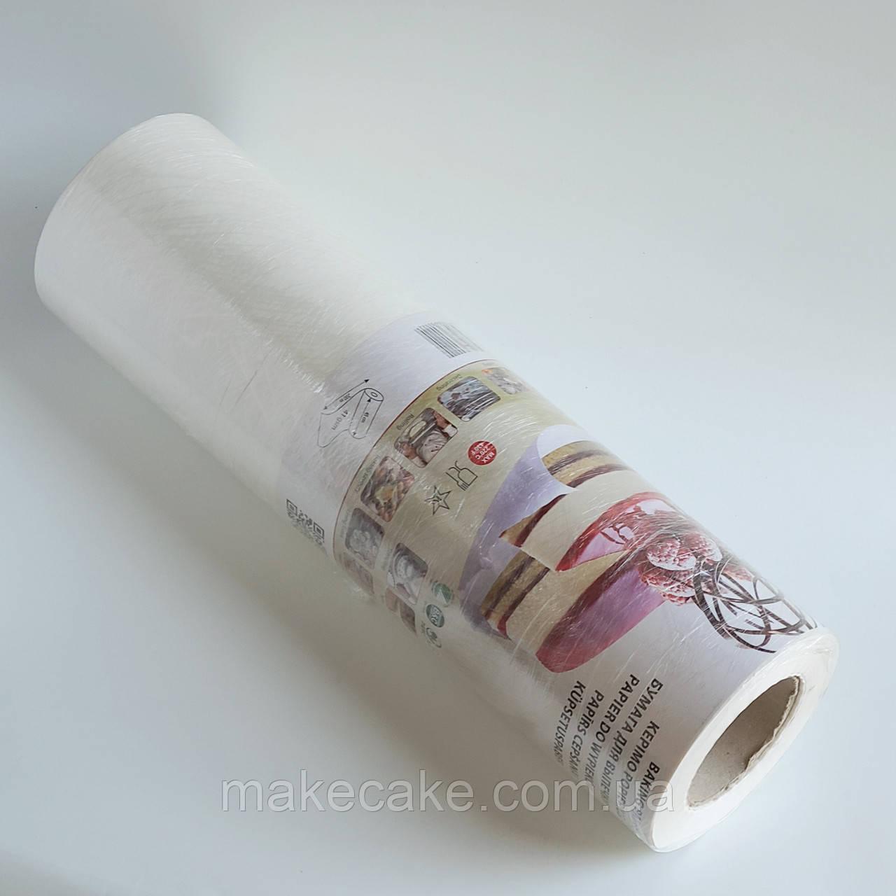 Силіконізований пергамент Eco Bake широкий 200 м (рулон)