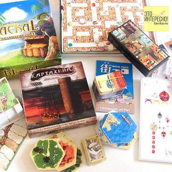 Настольные игры и пазлы для детей