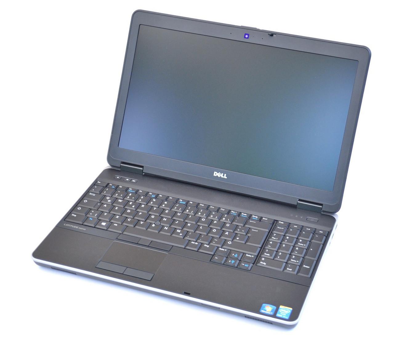 Ноутбук Dell Latitude E6540-Intel Core-i5-4310U-2,70GHz-8Gb-DDR3-256Gb-SSD-DVD-R-W15.6-Web- Б/У
