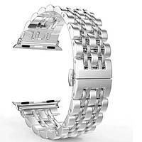 Ремешок Apple watch металлический 38/40 mm Стальной