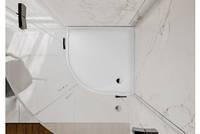 Поддон для душевой кабины полукруглый 90*90 MIRAGGIO MADRID из литого мрамора