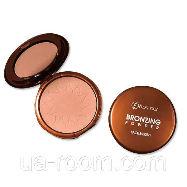 Пудра для лица и тела Flormar Bronzing Powder Face&Body