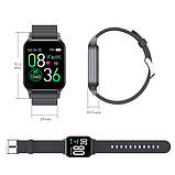 Фитнес-браслет Apple band т96 , температура тела, black, фото 5