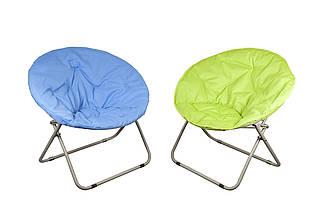 Пляжний складаний стілець для приємного відпочинку на морі колір синій GP20022404 BLUE