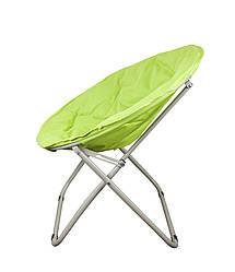 Пляжний складаний стілець для приємного відпочинку на морі колір лаймовий GP20022404 LIME