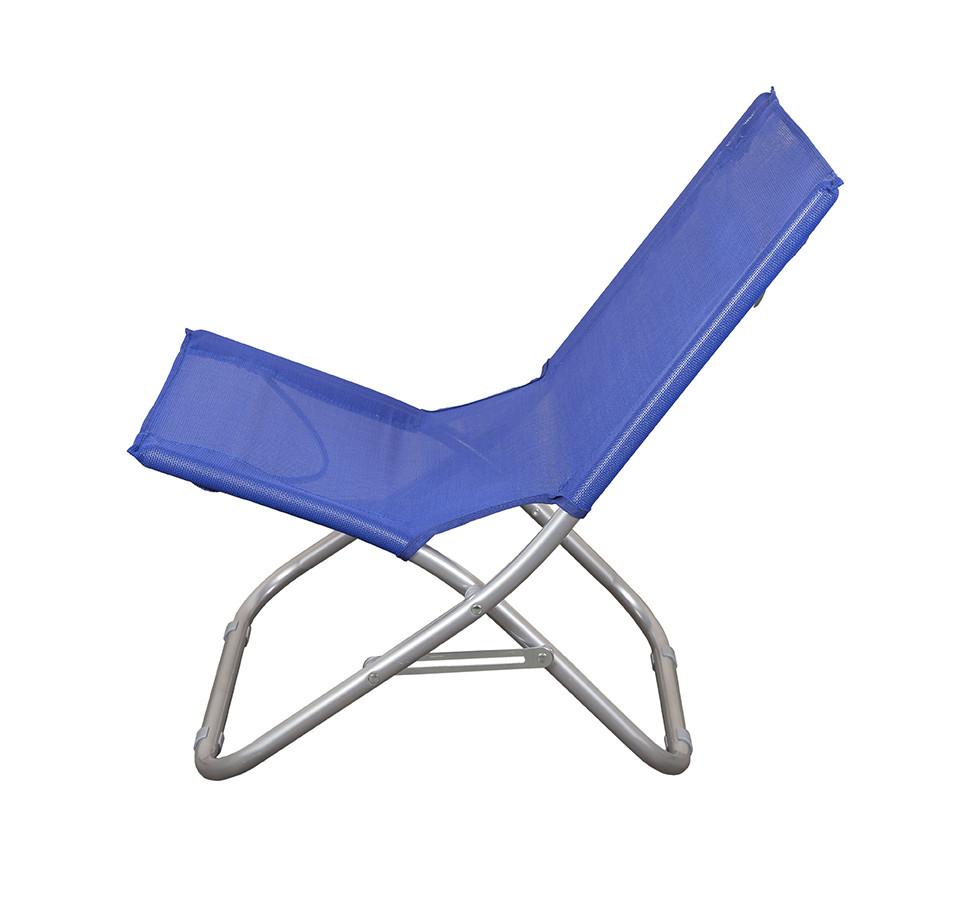 Пляжный складной стул для приятного отдыха на море цвет синий GP20022303 BLUE
