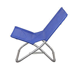Пляжний складаний стілець для приємного відпочинку на морі колір синій GP20022303 BLUE