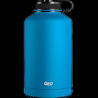 Нержавіюча пляшка/термос з покриттям, 1,8 л, Синя