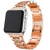 Apple watch 44 ремешок металлический 42/44 mm Розовое золото