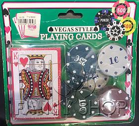 Покерний набір, міні, Покерный набор