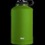 Нержавіюча пляшка/термос з покриттям, 1,8 л, Зелена
