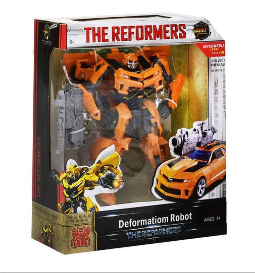 Детский трансформер робот.Игрушечный трансформер робот машина.