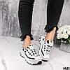 Кроссовки женские белые эко кожа повседневные демисезонные, фото 2