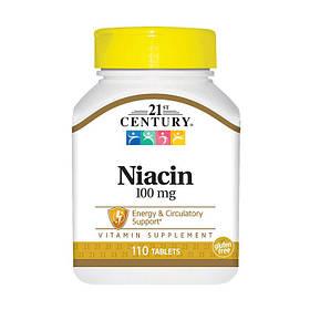 Ниацин 21st Century Niacin 250 mg 110 tabs