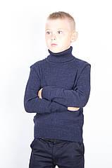 Гольф дитячий вовняної TAIKO 34 35 36 37 38 темно синій