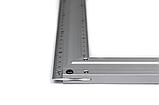 Косинець STAR TOOL 250 мм, алюмінієвий, двосторонній, фото 5