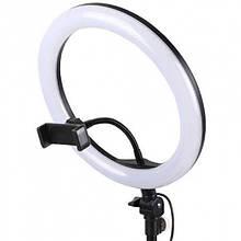 Кольцевая светодиодная лампа LED 30 см jy-300 селфи-лампа