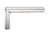 Косинець STAR TOOL 300 мм, алюмінієвий, двосторонній, фото 2