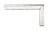 Угольник STAR TOOL 300 мм, алюминиевый, двухсторонний, фото 6