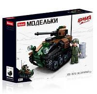 Конструктор Sluban Армия Бронетранспортёр M38-B0750 Army 245 деталей