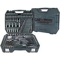 Набор инструментов 1/4, 3/8, 1/2 216 эл. Gut Meister GM-01216 премиум линейка от Mannesmann (Германия)