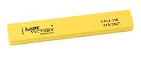 Желтый шлифовщик прямоугольной формы Lady Victory LDV S-FL1-11B /6-0