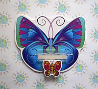 Стенд для рисунка и поделки Бабочка