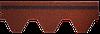 Битумная черепица RUFLEX Sota Красный крыжовник, 3м2, фото 3